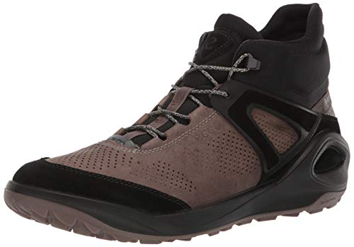 ECCO Men's Biom 2GO-Gore-TEX Waterproof, Outdoor Lifestyle, Multi-Sport, Hiking Ankle Boot, Black/Dark Clay, 44 M EU (10-10.5 US)