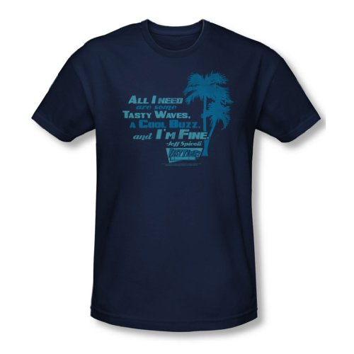 Fast Times Ridgemont High - - Hommes All I Need T-shirt dans la marine, XX-Large, Navy