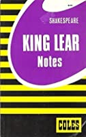 William Shakespeare King Lear Coles Notes 0774032073 Book Cover