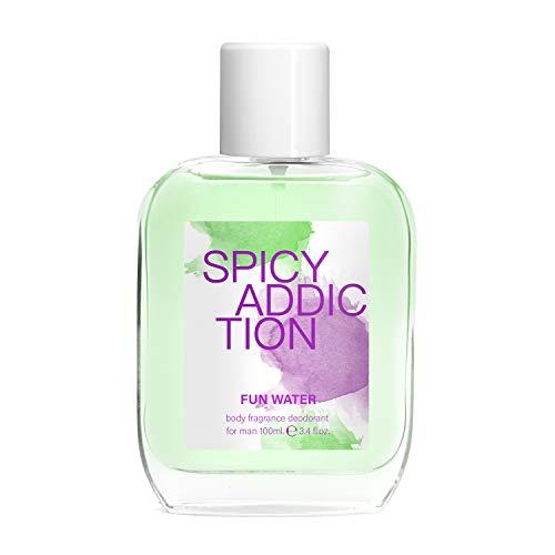 Fun Water Spicy Addiction Deodorant - Körperduft für den Herrn - 100 ml, 2er-Pack