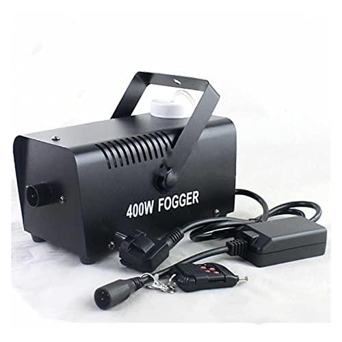 Máquina de Niebla Máquina de niebla Mini 400W niebla humo efecto máquina máquina disco DJ Proyector de escenario de Navidad de fiesta con alambre / control remoto Piso de inicio HIGO Maquina de Humo