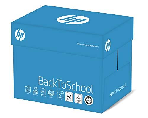HP Back to School - Kopierpapier Weiss ECF 80g/m² A4 - Karton zu 5 x 500 Blatt, FSC mix credit