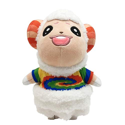 8 Inch Plush Animal Toy Animal Crossing New Plush, A Great Gift for Your Kids and Friends Cute Plush (Dom)(Green)