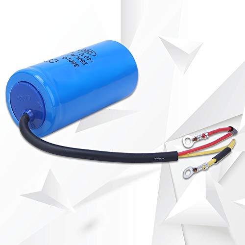 Condensador de funcionamiento del motor, condensador de funcionamiento con autocuración para impacto de corriente para refrigerador para motor de CA para bomba de agua para aire