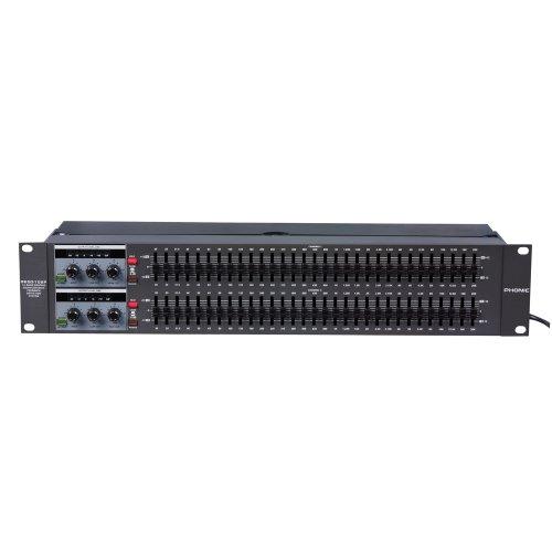 Phonic GEQ3102F Ecualizador Gráfico Estéreo de 31 Bandas