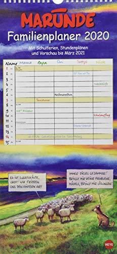Marunde Familienplaner Kalender 2020