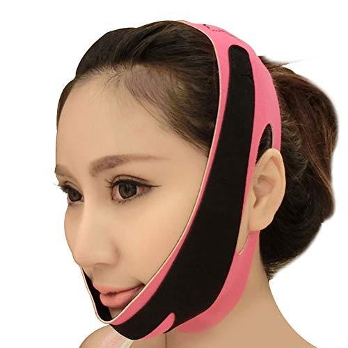 Healifty Vendajes Facial de Adelgazante para Cara Mascarilla para Adelgazar Papada Reductor y Antiarrugas Cuidado Facial Piel Compacto V