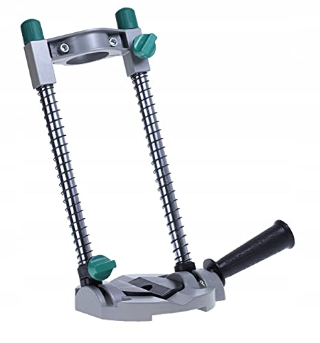 DREL Drill Machine Stand 300 mm Drill Stand Drill Machine Stand Tripod Stand Battery Screw Holder Angle Drilling Aid