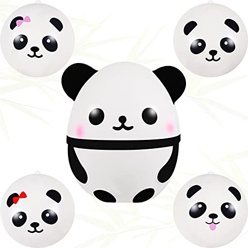 5 Pieces Squishy Panda Fidget Toys Slow Rising Panda Fidget Toys...