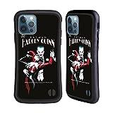 Head Case Designs Licenciado Oficialmente The Joker DC Comics Batman: Harley Quinn 1 Arte del Personaje Carcasa híbrida Compatible con Apple iPhone 12 / iPhone 12 Pro