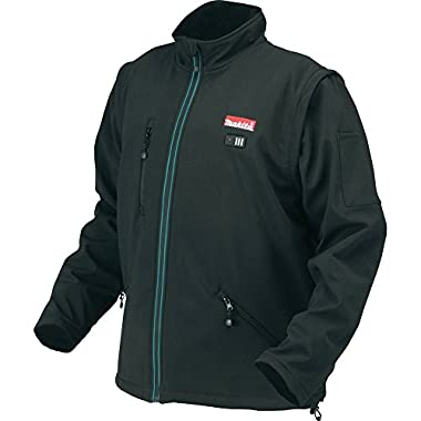 Makita DCJ200Z2XL 18V LXT Lithium-Ion Cordless Heated Jacket, Black, 2X-Large