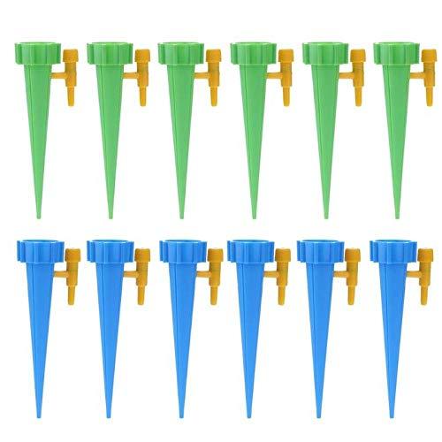 Riego Por Goteo Sistema De Riego Automático Por Riego Por Goteo Pico De Riego Automático Para Plantas Cuidado De La Flor Botella De Interior Para El Hogar Kit De Riego Por Goteo-6 Verde 6 Azul