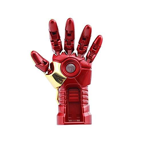 Memorias USB Flash Drive Anime Vengadores superhéroe 4/8/16/32/64 / 128GB Marvel Superhero Series (8GB, Iron Man Left Hand)