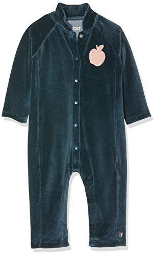 Imps & Elfs G Overall Long Sleeve Combinaison, Bleu (Orion Blue P234), 68 Bébé Fille