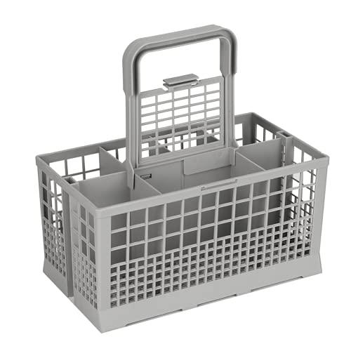 WOUPY Cesta para lavavajillas, Cesta Universal para Cubiertos ABS Durable lavavajillas
