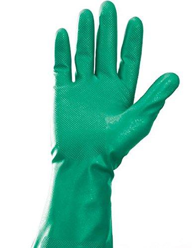 Kimberly Clark 94445 Jackson Safety G80 chemische handschoenen, handspecifieke paar, 33 cm, groen (pak van 120-)