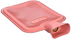 cheap HomeTop Premium Classic Rubber Hot water bottle, ideal for analgesia and cryotherapy (2 …