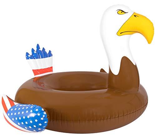 Coconut Float Patriotic Bald Eagle Pool Float …