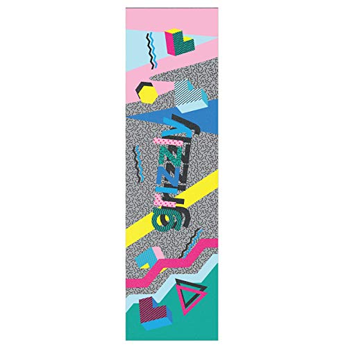 "9 x 33/"" Grizzly Clear Stamp Pro Skateboard Griptape Free Sticker"