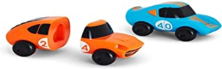 Munchkin Magnet Motors Mix & Match Cars, Blue/orange, 2 count