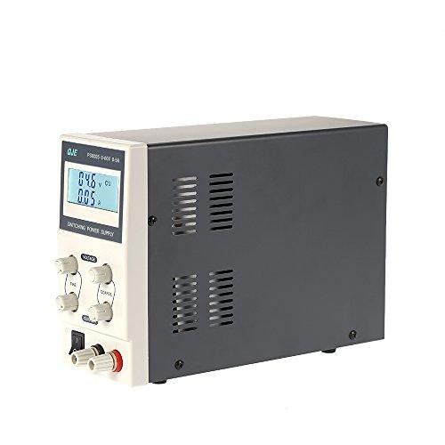 KKmoon 0-60V 0-5A 3 Fuente de Alimentación Dígitos Variable Digital Regulado Dc Traspuesta Ajustable Salida Voltaje Corriente Lcd Monitor Ue Enchufe