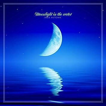 물속에 비치는 달빛