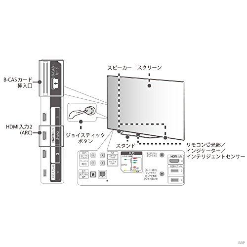 『LG 55V型 有機EL テレビ OLED55B8PJA 4K ドルビービジョン対応 ドルビーアトモス対応』の5枚目の画像