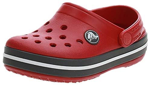 Crocs Crocband Clog K, Zuecos Unisex niños, Pepper/Graphite, 27/28 EU
