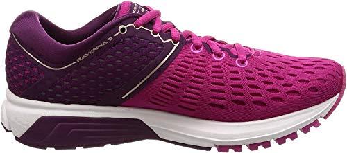 Brooks Ravenna 9, Zapatillas de Running para Mujer, (Ebony/Diva Pink/White 027), 37.5 EU