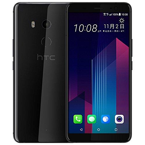 HTC U11 Smartphone (13,97cm (5,5 Zoll), 16 MP Frontkamera, 128GB Speicher, Android) (Brilliant Black)