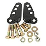 1-2' Or 1-3' Rear Adjustable Lowering Kit Fits For 02-16 Harley Touring Bikes/Street Glide/Electra...