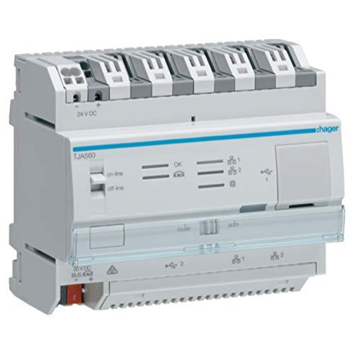 Hager Controller TJA560 IoT Bussystem-Systemschnittstelle/Medien-Gateway 3250615909411
