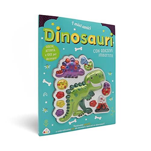 I miei amici dinosauri. Sticker imbottiti