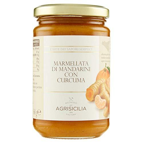 Agrisicilia AGR060 Marmellata di Mandarini con Curcuma - 360 g