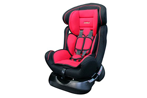 ORIDENT Auto Kindersitz BXS 0-25 kg 0+I+II Gruppe-0+1+2 nach Norm ECE 44-04 (Rot)