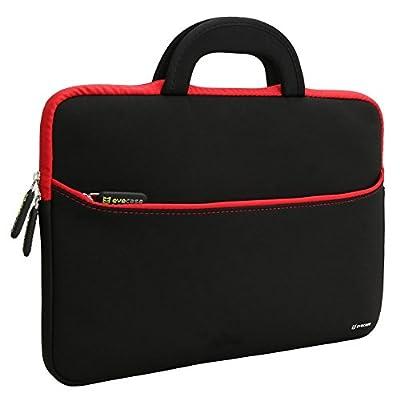 Laptop Sleeve Evecase 13.3 - 14 inch Slim Neoprene Sleeve Case Bag with Handle