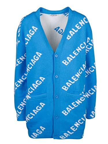 Luxury Fashion | Balenciaga Dames 620984T15677560 Donkerblauw Wol Vesten | Lente-zomer 20