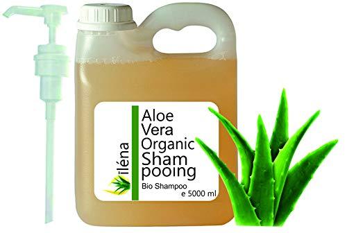 Champú Natural y Ecológico con Aloe Vera, Aceite de Argán, Vitaminas y Queratina, con Ceramidas Naturales para el Cabello. (5000 ml)