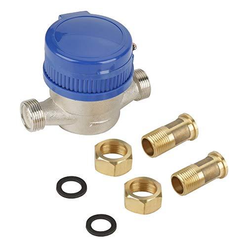 Contador de agua - Meter agua fría con Aecessaries 15mm 1/2