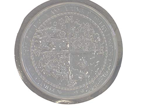 Four Seasons Stepping Stone Concrete Plaster Mold 1063