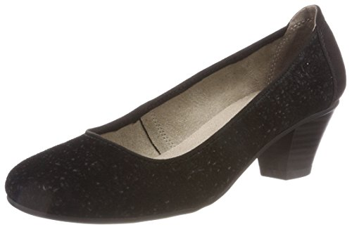 Jana Damen 22301 Pumps, schwarz (black), 40 EU