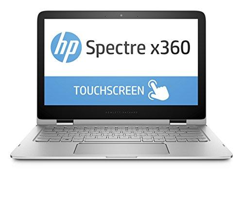 """HP Spectre x360 13-4102nl Portatile Convertibile, Touchscreen Retroilluminazione LED IPS QHD (13,3"""") 2560 x 1440, Processore Intel Core i7-6500U, 8 GB SDRAM, SSD M.2 256 GB, Cover Alluminio, Argento"""