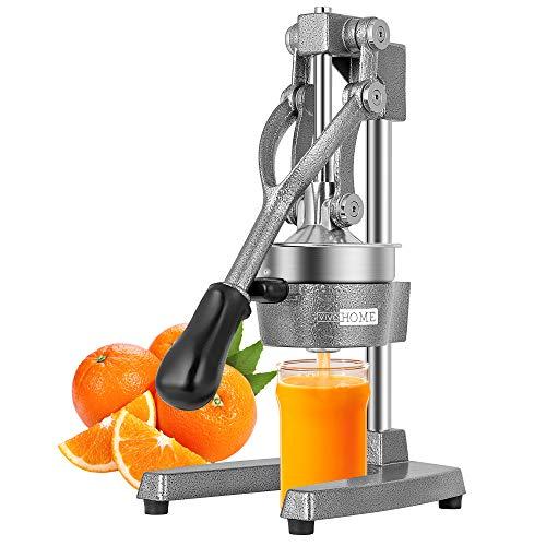 VIVOHOME Heavy Duty Commercial Manual Hand Press Citrus Orange Lemon Juicer Squeezer Machine Grey