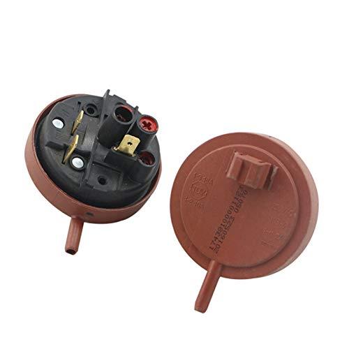 XIAOFANG 1pc Lavadora Sensor de Nivel de Agua Interruptor de Sensor 250VAC KS-2 1-6 2A Fit para la Lavadora de Tambor Interruptor de Control Sensor de presión