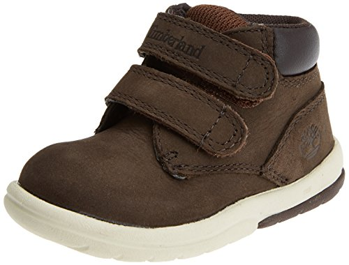 Timberland Unisex Baby Toddle Tracks Hook and Loop Stiefel, Braun (Red Briar Naturebuck D54), 25 EU
