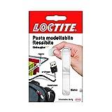 Loctite Kintsuglue Pasta Modellabile, Adesiva Flessibile Bianca per Riparare, Ricostruire e Proteggere Oggetti, Colla Modellabile Impermeabile e Plasmabile, 3x5 g