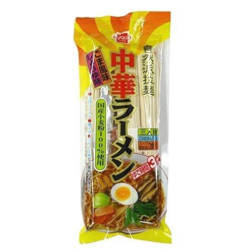 健康フーズ 中華ラーメン 3人前 (麺・スープ・香味油付き)