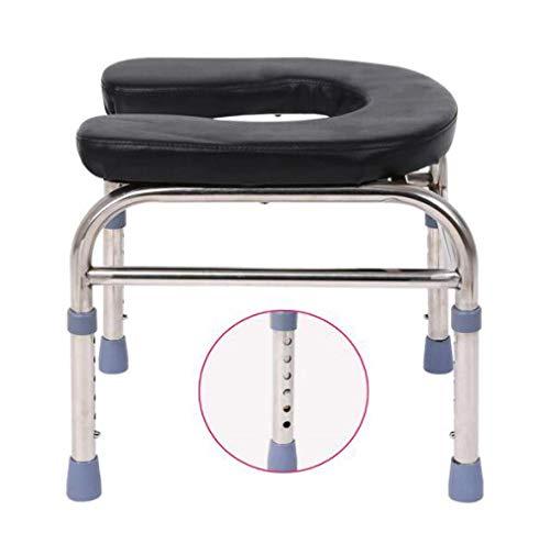 Z-SEAT Toilettenstuhl Schwerer Nachttisch, extra breit, höhenverstellbar, Drive Medical Adipositas für Erwachsene, schweres Gewicht 400 Pfund, sicher, rutschfest