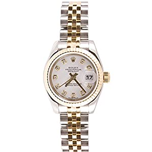 Fashion Shopping Rolex Ladys 179173 Datejust Steel & 18k Gold, Jubilee Band, Fluted Bezel &
