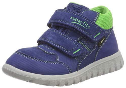 Superfit Baby Jungen SPORT7 Mini Sneaker, Blau (Blau/Grün 81), 24 EU